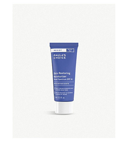 PAULA'S CHOICE Resist Skin Restoring moisturiser SPF 50 15ml