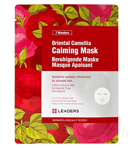 LEADERS Oriental camelia stressed skin calming mask