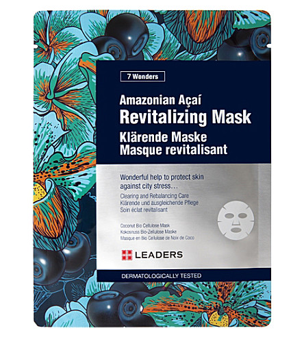 LEADERS Amazonian acai revitalizing mask