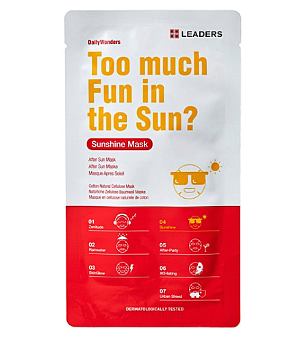 LEADERS Daily Wonders Sunshine Mask