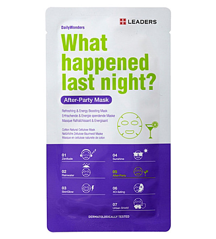 LEADERS Daily Wonders After-Party Mask