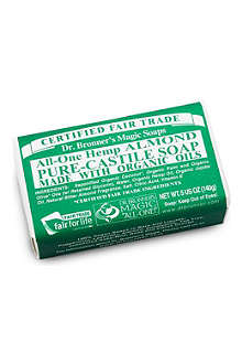 DR. BRONNER Organic Almond soap bar 140g