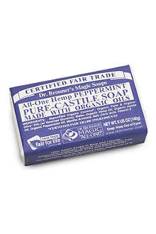 DR. BRONNER Organic Peppermint soap bar 140g