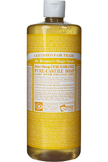 DR. BRONNER Organic Citrus castile liquid soap 946ml