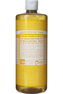 DR. BRONNER Organic Citrus castile liquid soap 946ml
