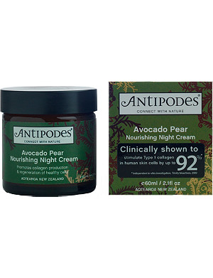 ANTIPODES Avocado and pear nourishing night cream