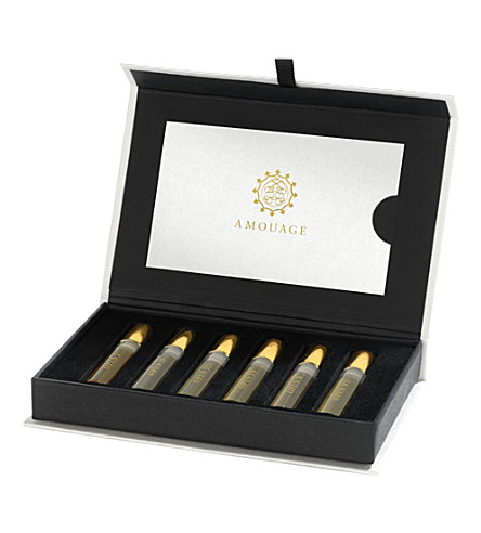 AMOUAGE Library collection sample box 8x2ml