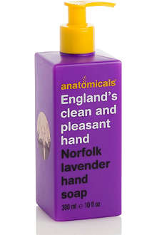 ANATOMICALS England's Clean and Pleasant Hand hand wash
