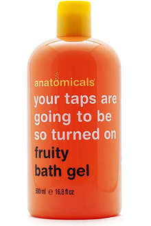 ANATOMICALS Your Taps Will Be So Turned On fruity bath foam
