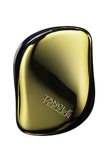 TANGLE TEEZER Compact Styler brush – black & gold