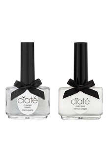 CIATE Caviar Manicure™ kit - White paint pot
