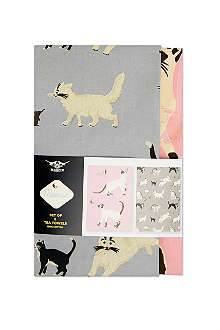 CUBIC Set of two Meow tea towels