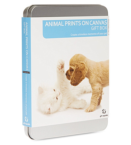 GIFT REPUBLIC Pet Prints on Canvas