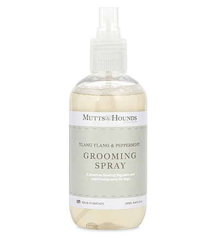 MUTTS & HOUNDS Ylang Ylang & peppermint grooming spray 250ml