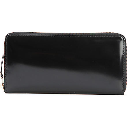 COMME DES GARCONS Leather wallet (Black