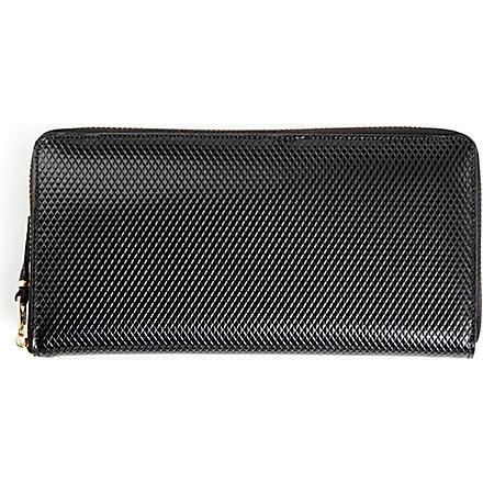 COMME DES GARCONS Leather wallet (Black