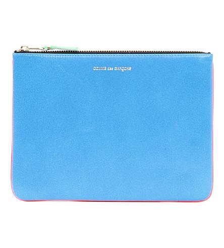 COMME DES GARCONS Fluorescent pouch (Orange