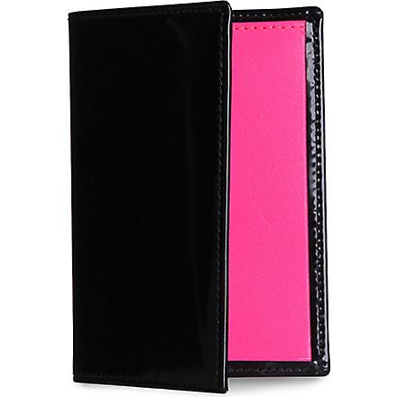 COMME DES GARCONS Bi-fold credit card holder (Pink