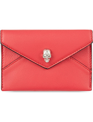 ALEXANDER MCQUEEN Envelope card holder