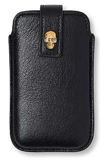 ALEXANDER MCQUEEN Skull iPhone 4 case