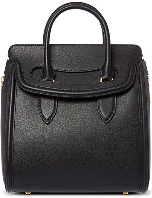 ALEXANDER MCQUEEN Heroine grained leather tote