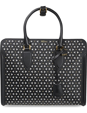 ALEXANDER MCQUEEN Heroine studded leather tote