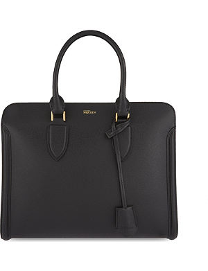 ALEXANDER MCQUEEN Heroine open grained leather tote