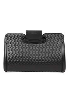 ALEXANDER MCQUEEN Heroine quilted leather clutch