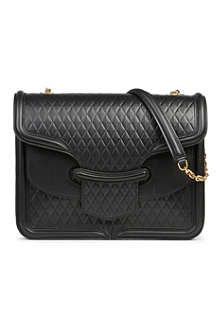 ALEXANDER MCQUEEN Heroine quilted leather shoulder bag