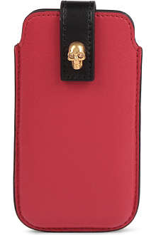 ALEXANDER MCQUEEN Skull iPhone 5 case