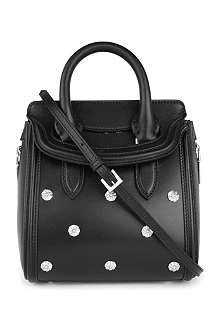 ALEXANDER MCQUEEN Heroine mini pearl leather cross-body bag