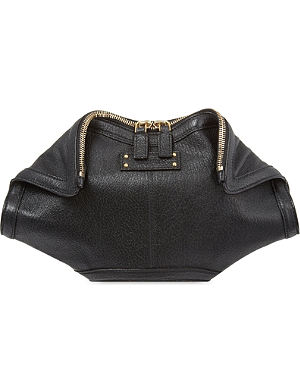ALEXANDER MCQUEEN De Manta small clutch bag