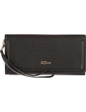 ALEXANDER MCQUEEN Heroine long wallet