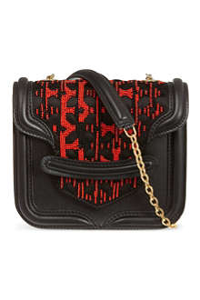 ALEXANDER MCQUEEN Beaded Heroine bag