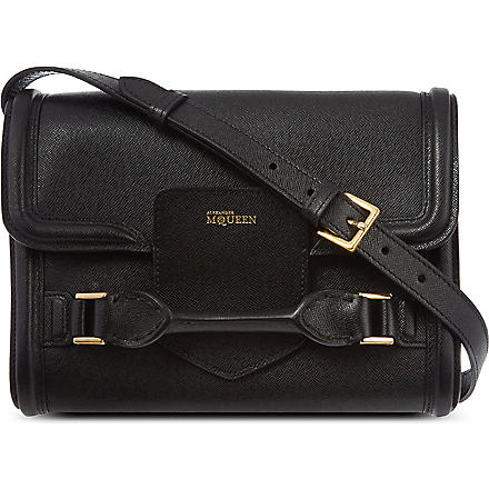 ALEXANDER MCQUEEN Heroine cross-body bag (Black