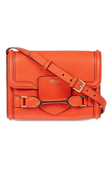 ALEXANDER MCQUEEN Heroine grained cross-body bag