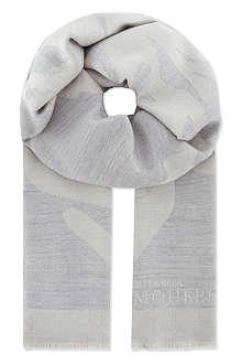 ALEXANDER MCQUEEN Tulip oversized scarf