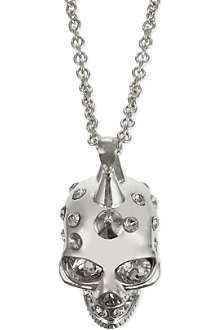 ALEXANDER MCQUEEN Punk skull necklace