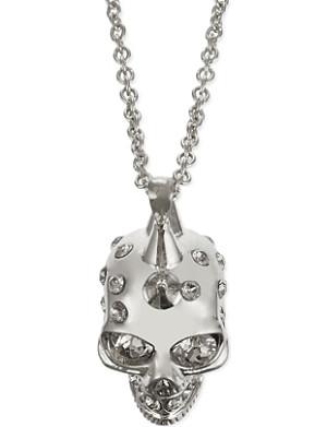 ALEXANDER MCQUEEN Punk skull necklace