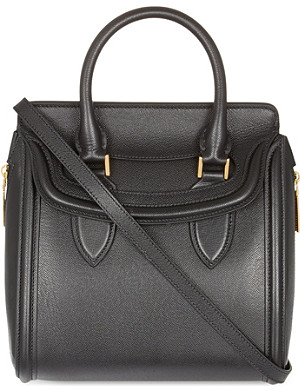 ALEXANDER MCQUEEN Heroine small textured leather tote