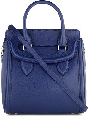 ALEXANDER MCQUEEN Heroine small grain-leather tote
