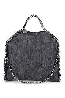 STELLA MCCARTNEY Falabella denim shoulder bag