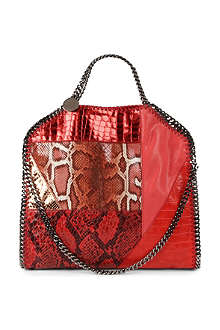 STELLA MCCARTNEY Falabella patchwork faux-leather bag
