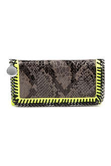 STELLA MCCARTNEY Falabella faux-leather wallet