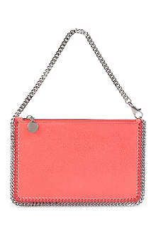 STELLA MCCARTNEY Falabella faux-leather clutch