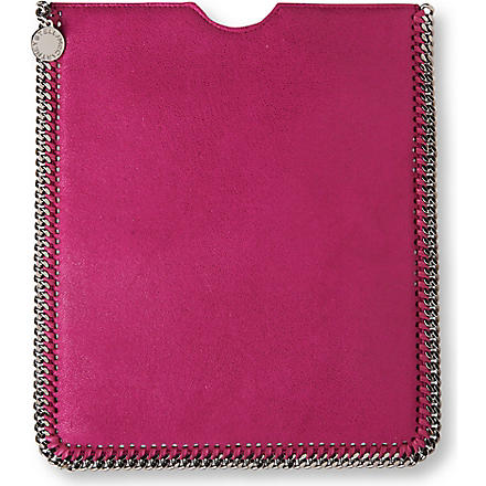 STELLA MCCARTNEY Falabella iPad case (Fuxia