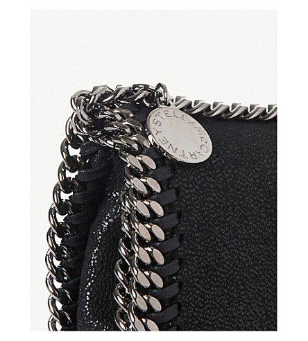 STELLA MCCARTNEY Black Falabella Cross Body Bag