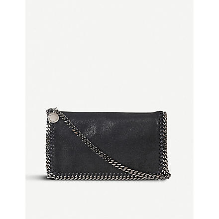 STELLA MCCARTNEY Falabella cross-body bag (Black
