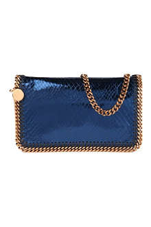 STELLA MCCARTNEY Falabella metallic messenger bag