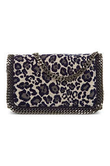 STELLA MCCARTNEY Falabella leopard-print cross-body bag